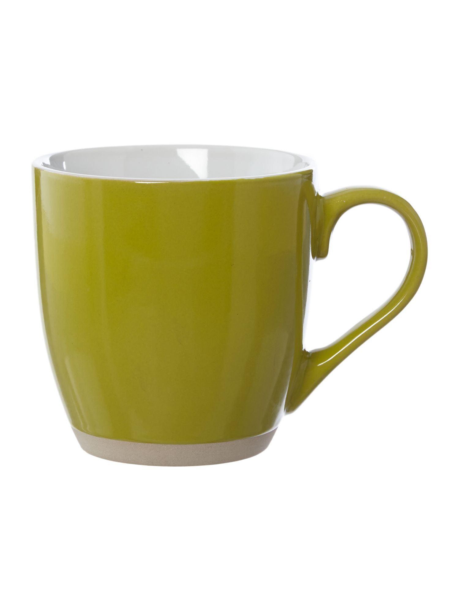 Avocado green mug