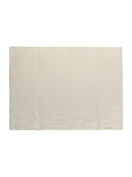 Linea Ivory Sparkle Canterbury Placemat Set of 2
