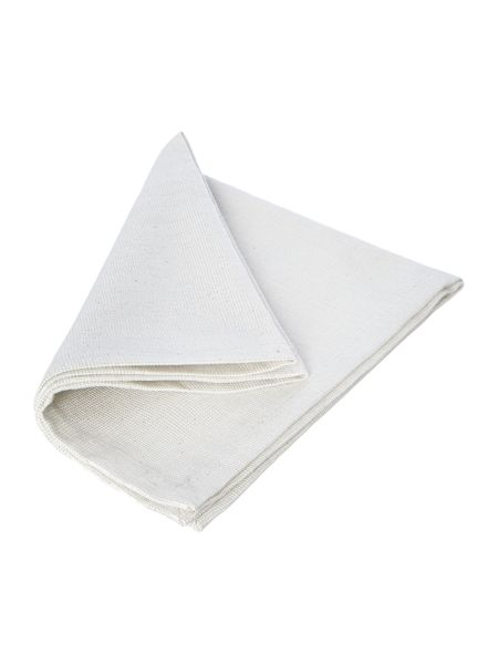 Linea Ivory Sparkle Canterbury Napkins Set of 4