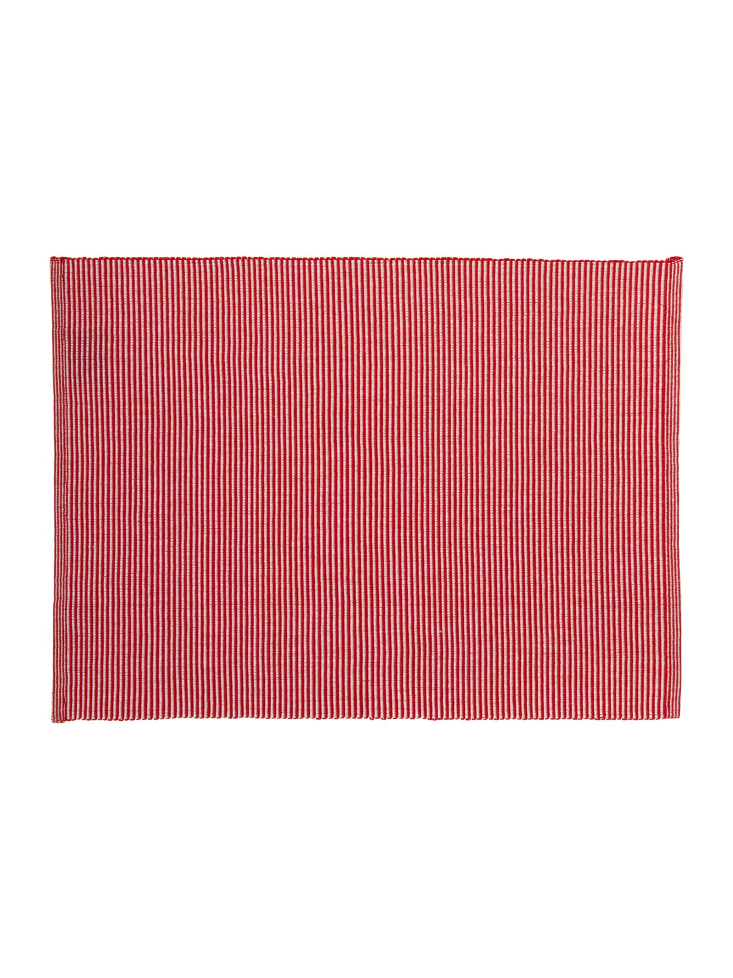 Red Canterbury Placemat S/2