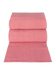 Red Ribbed Canterbury Runner