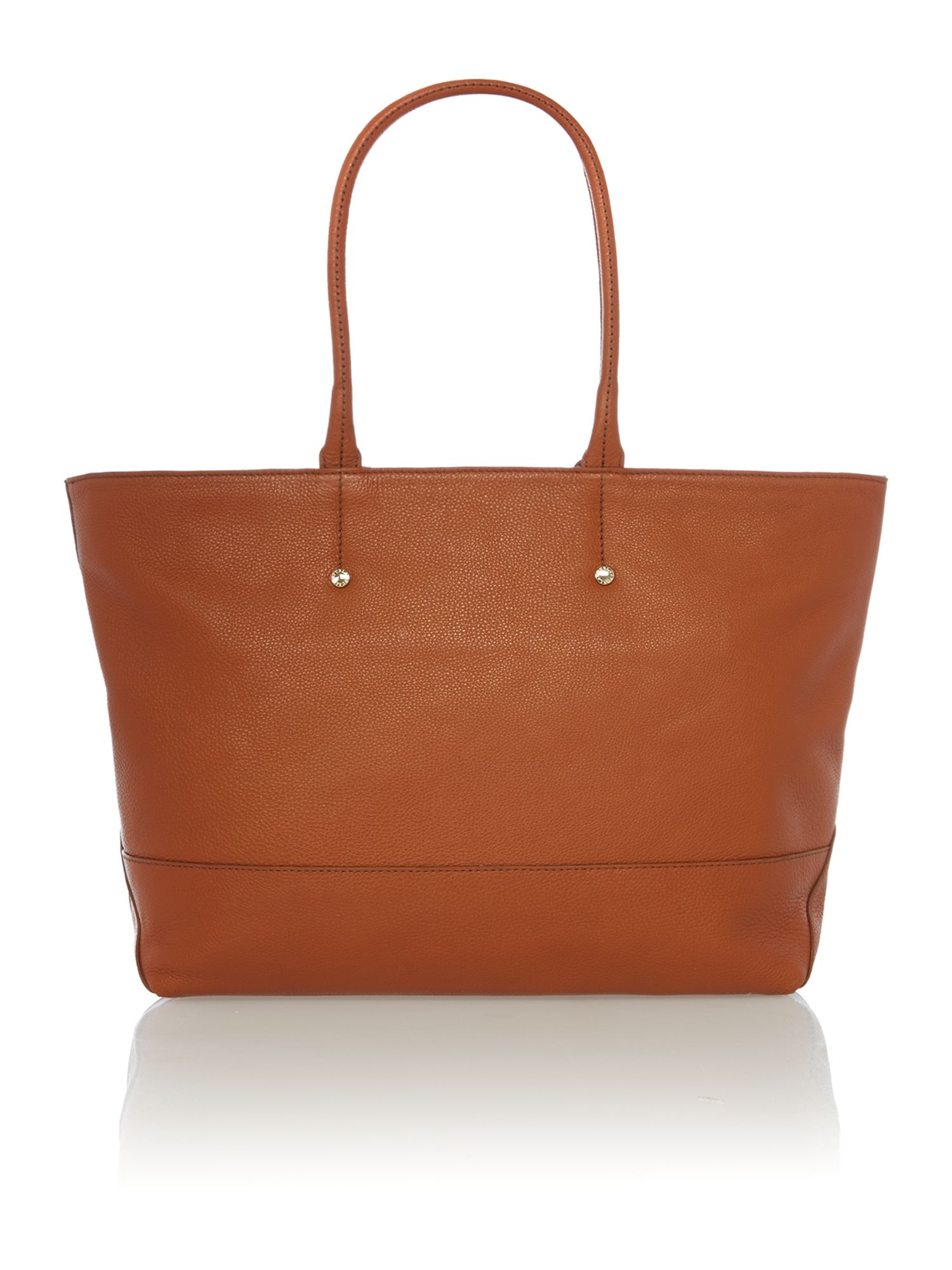 Melissa tan large tote bag
