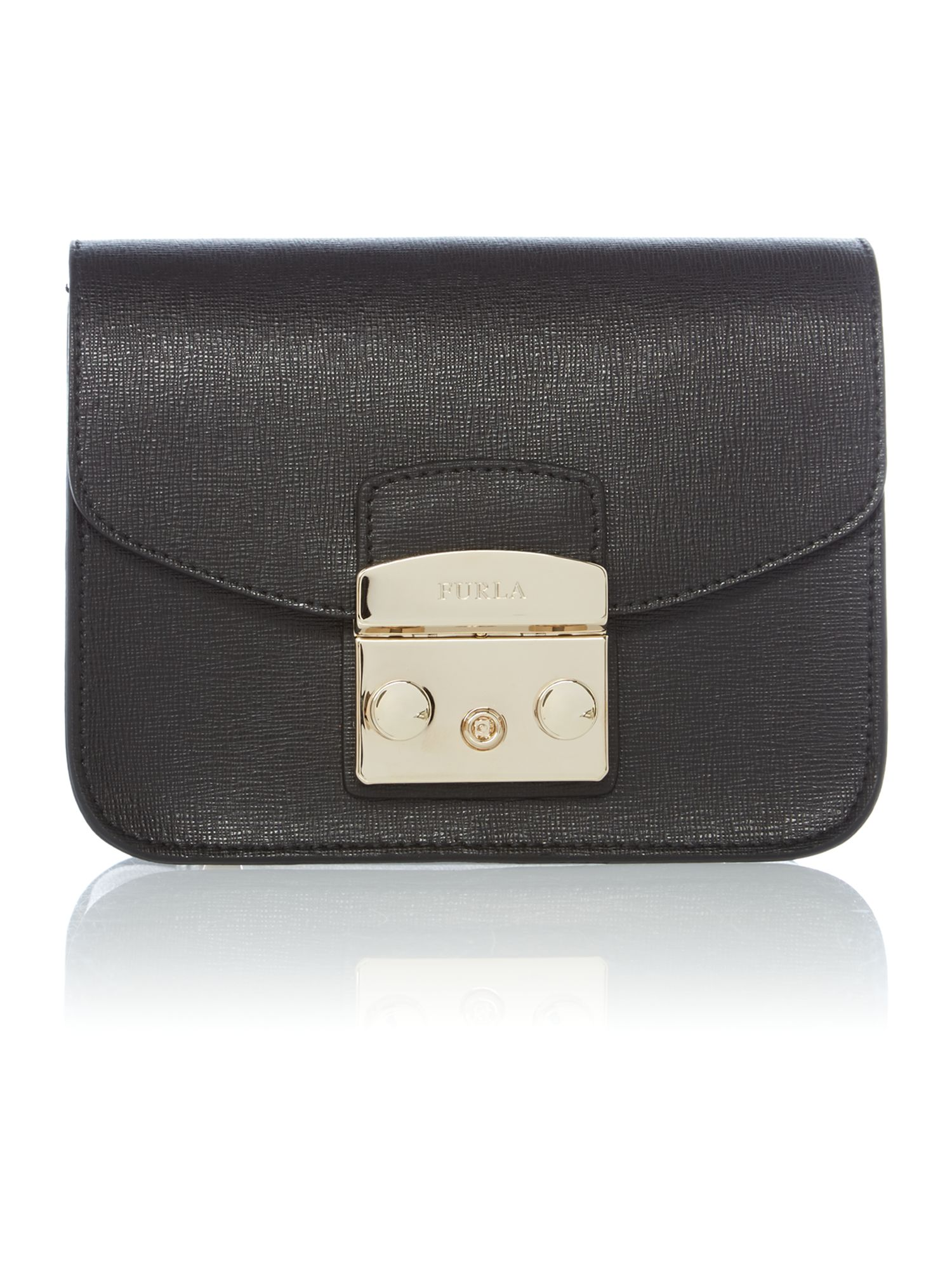 Metropolis black small shoulder bag