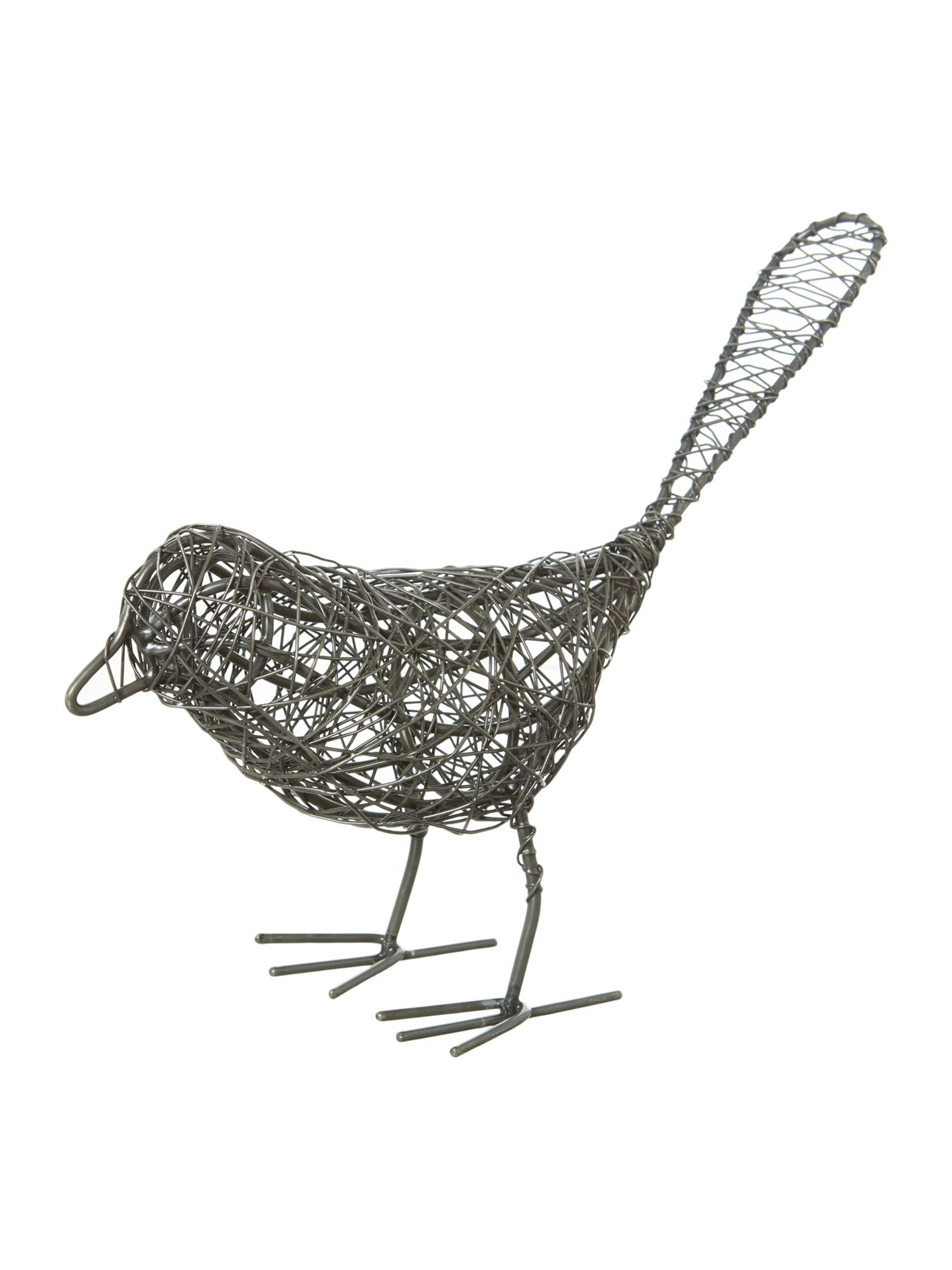 Wire bird, large