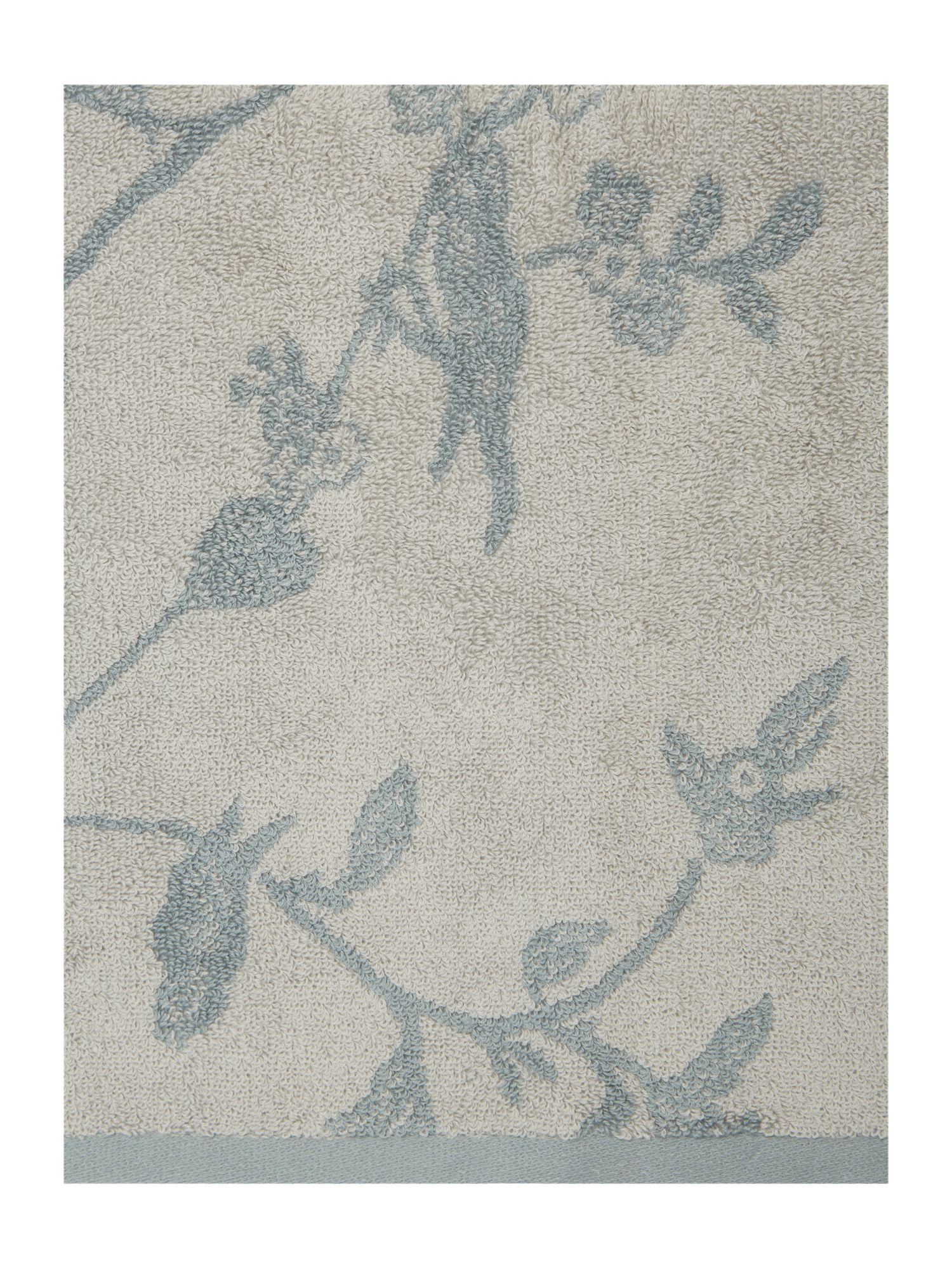 Bird jacquard pack of 2 hand towels
