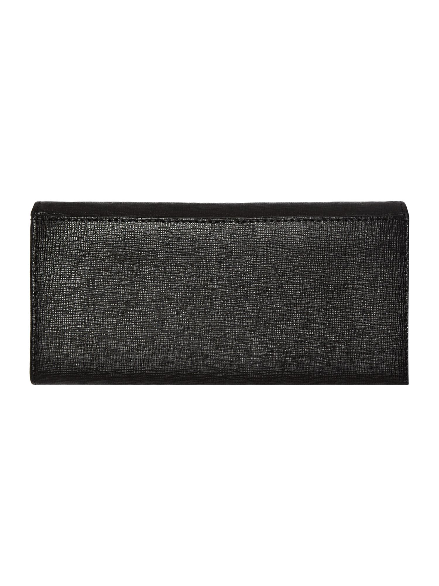 Babylon black large flap over purse