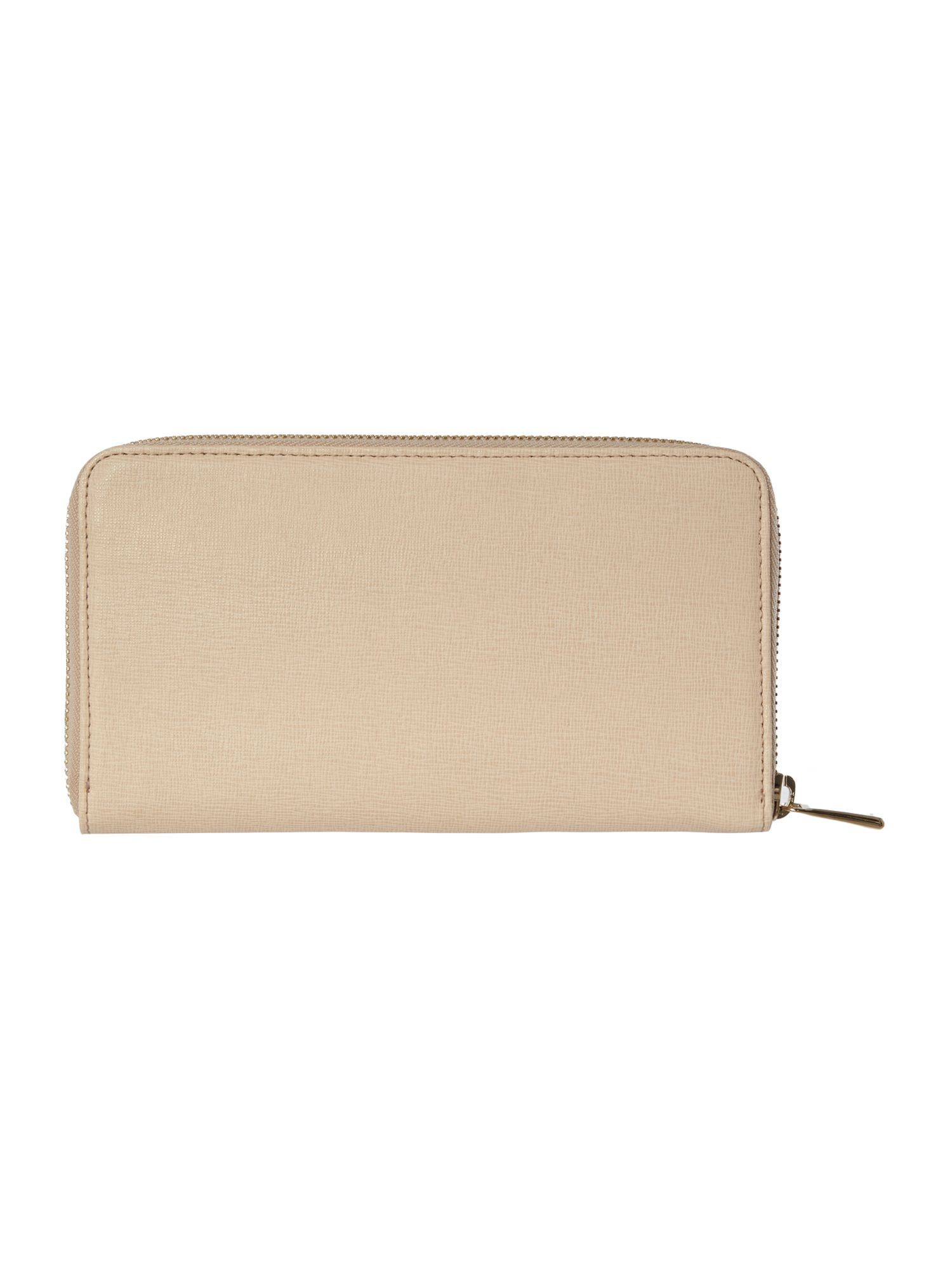 Babylon neutral large ziparound purse