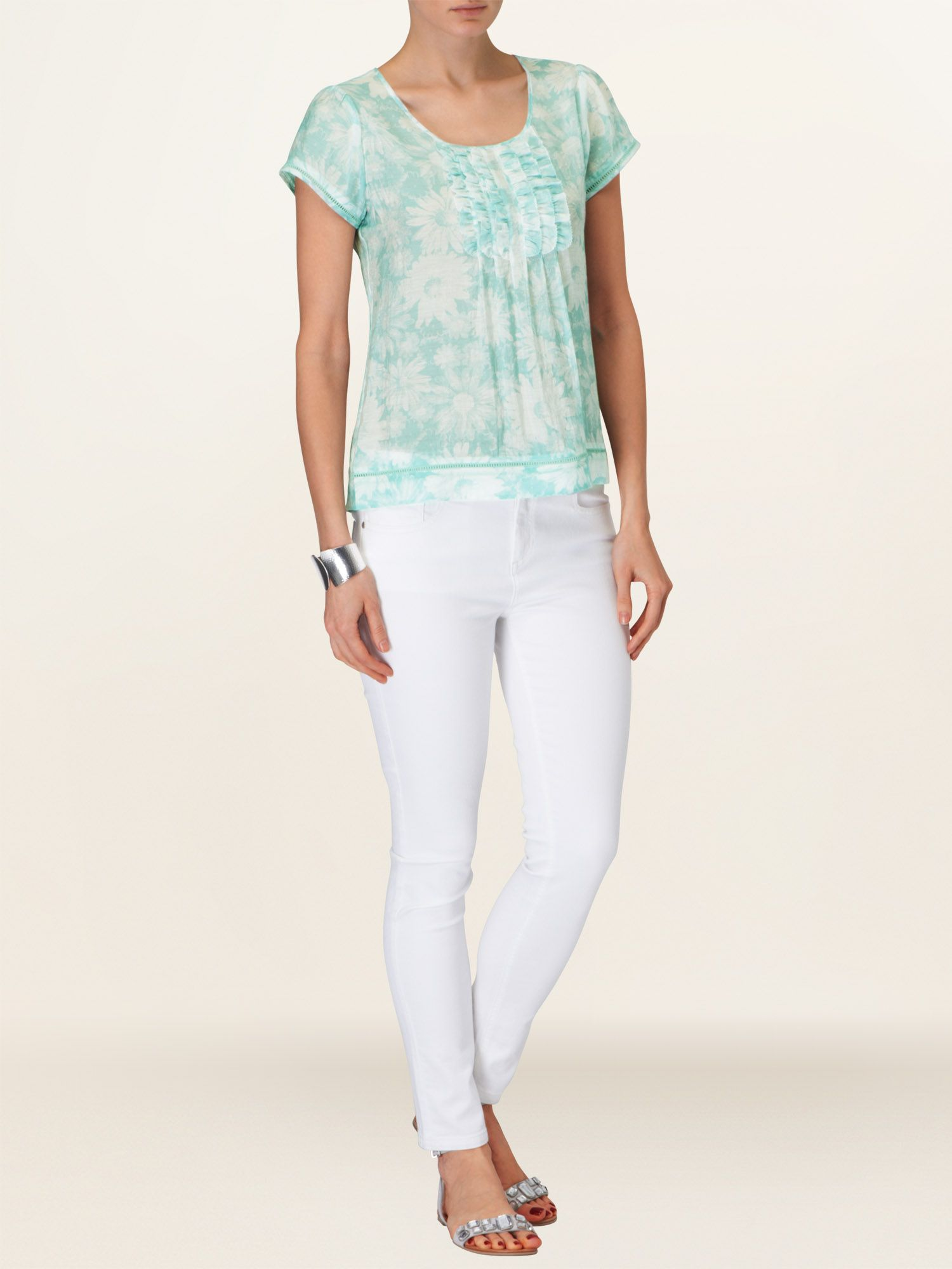 Betsy floral blouse