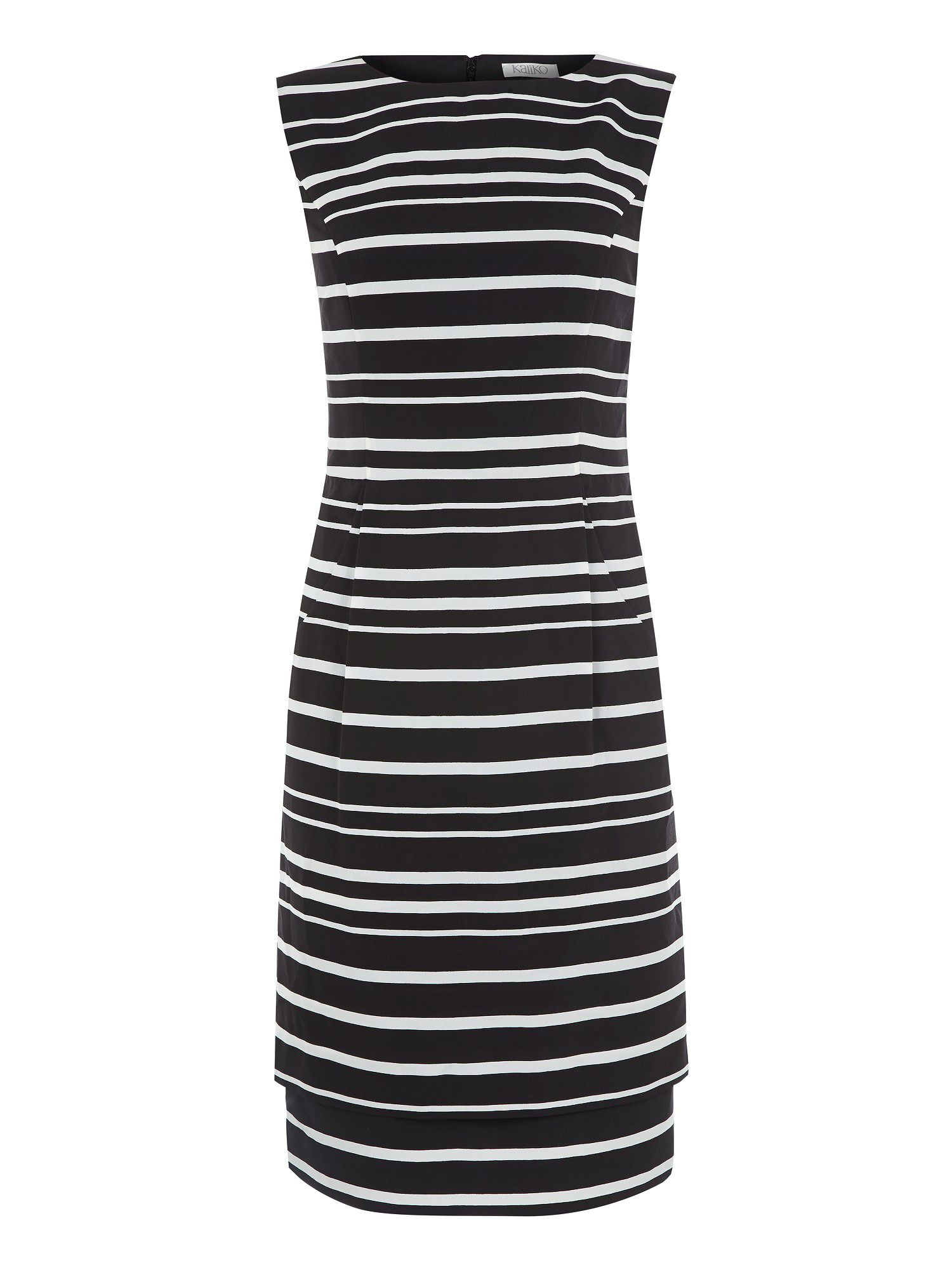 Stripe double layer dress