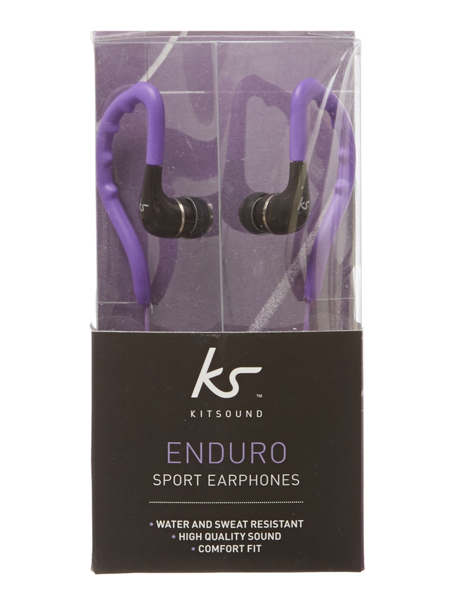 Enduro sports headphones