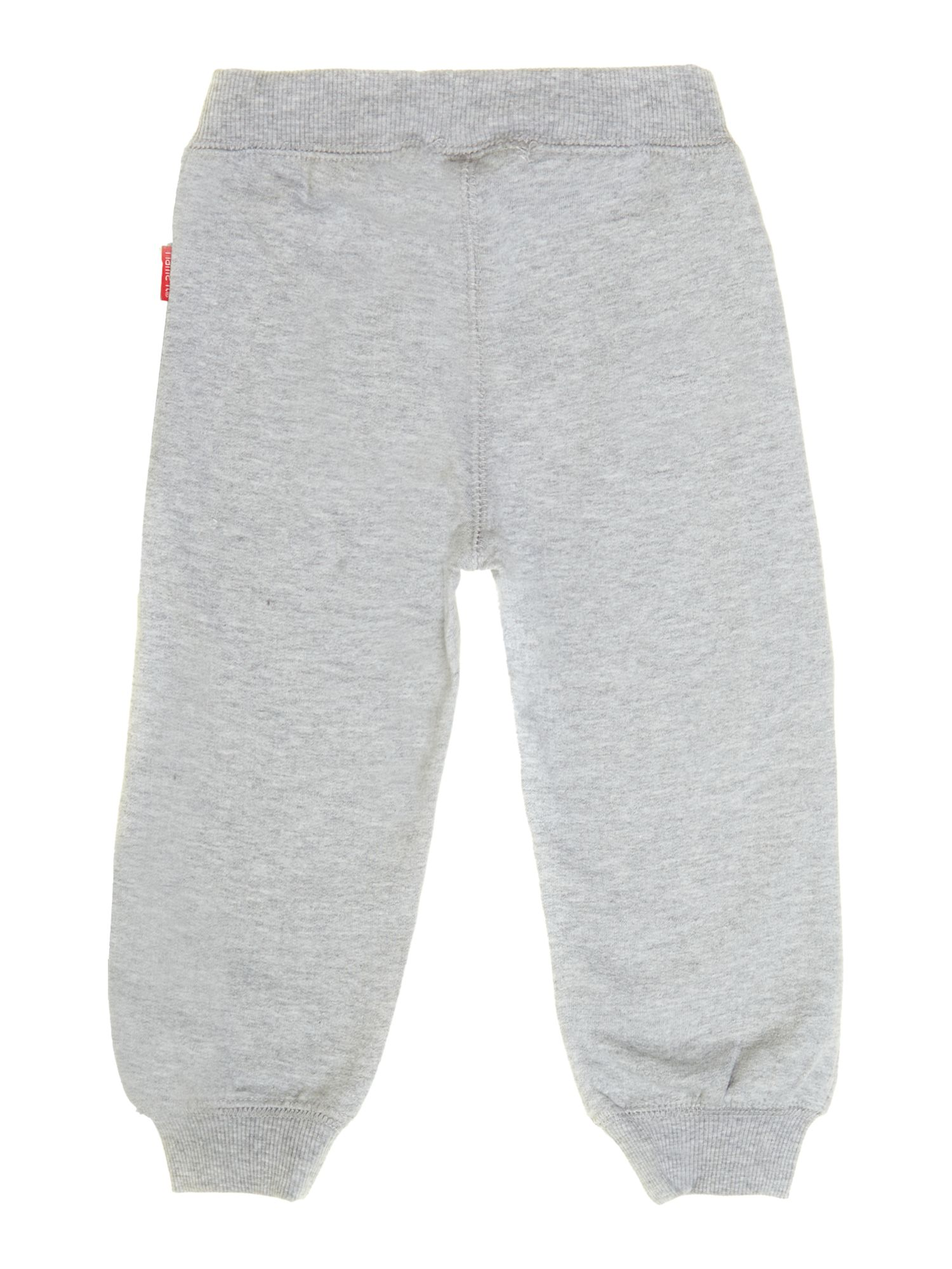 unisex tracksuit bottom with contrast drawcord
