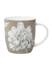 Bloom grey mug