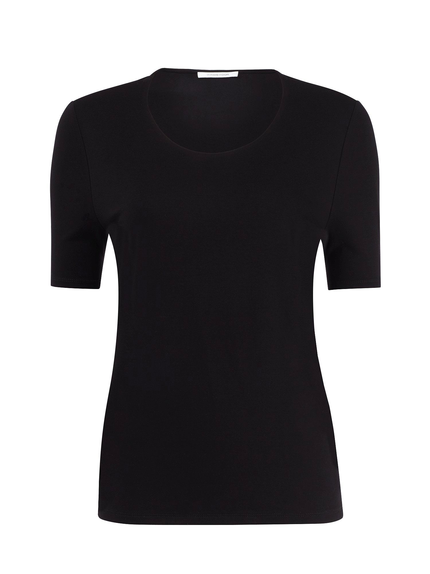 Scoop neck jersey top