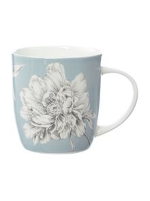 Bloom blue mug
