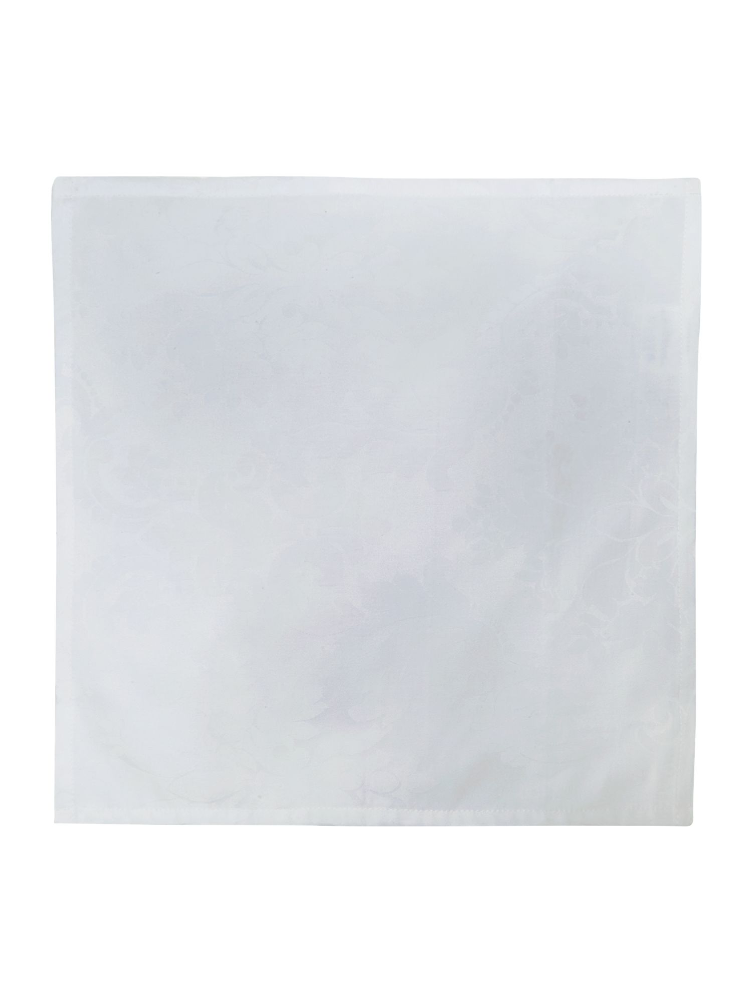 White Cambridge Napkins Set of 4