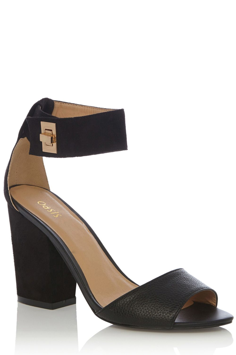 Amanda cuff lock 2 part sandal