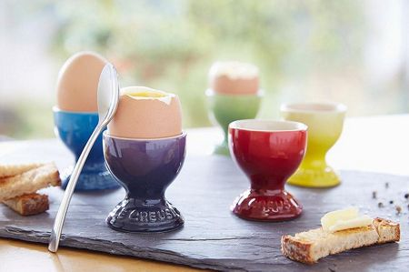 Le Creuset Rainbow egg cups set of 6