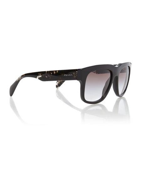 Prada Sunglasses Pr 14qs men`s square sunglasses