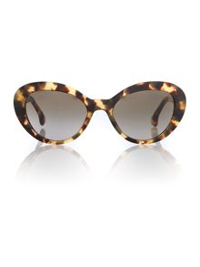 Pr 15qs ladies oval sunglasses