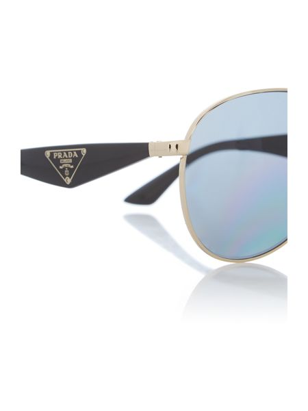 Prada Sunglasses Pr 53qs ladies pilot sunglasses
