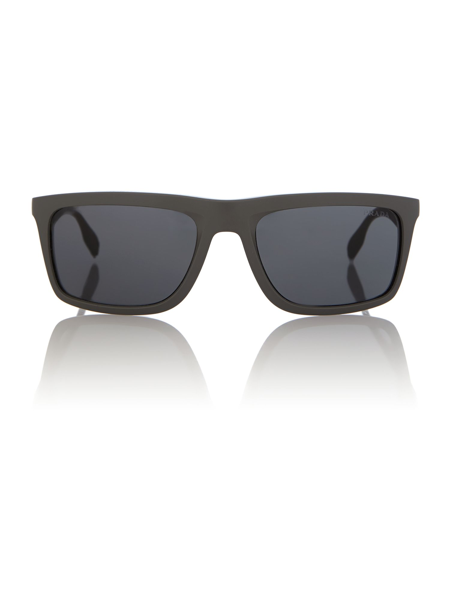 Ps 02ps men`s rectangle sunglasses