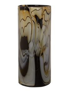 Cream & Black Swirl vase range