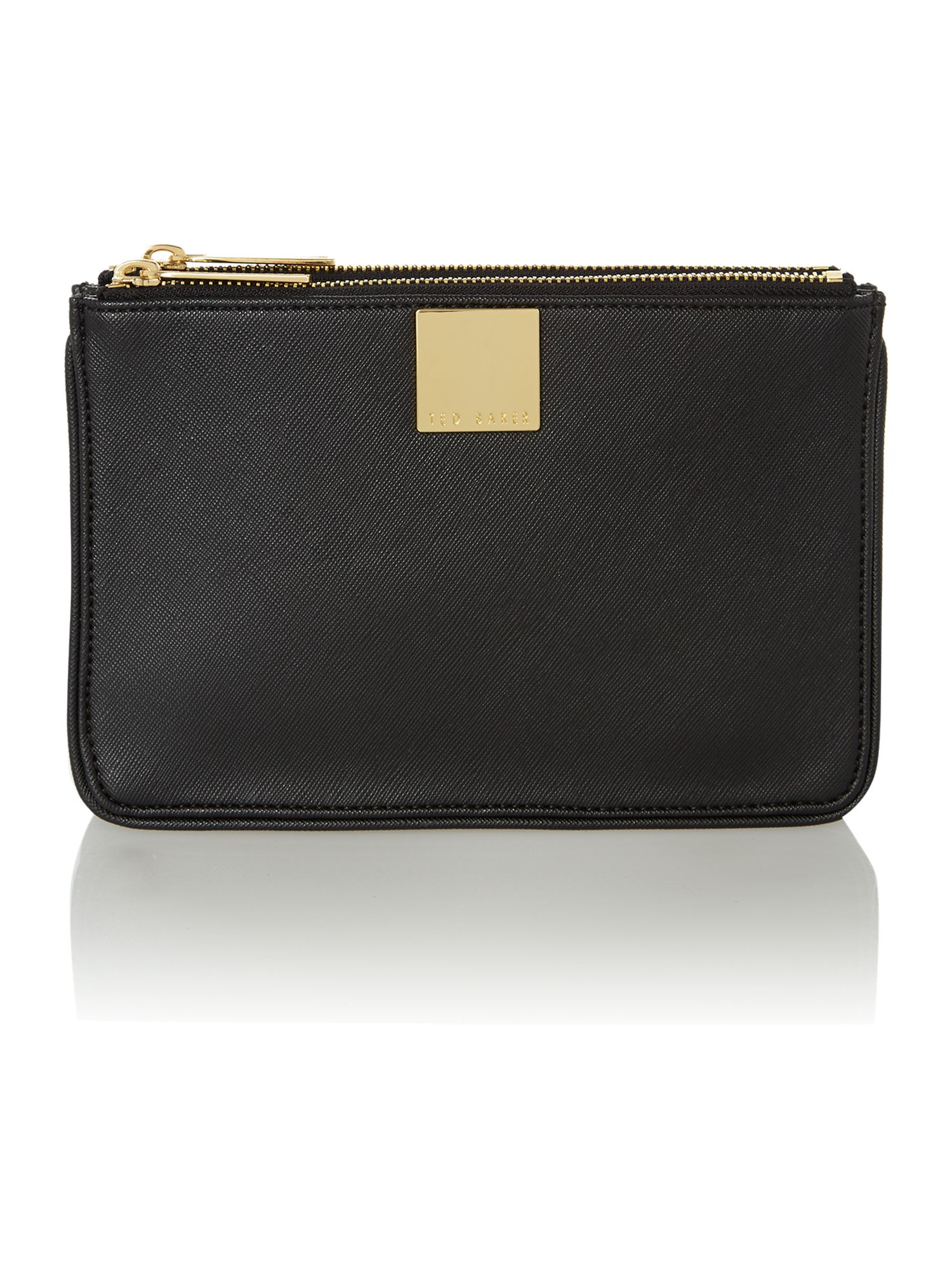 Black small saffiano cross body bag