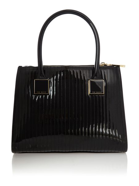 Ted Baker Black medium quilt tote bag