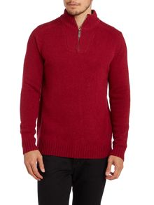 Zip placket jumper