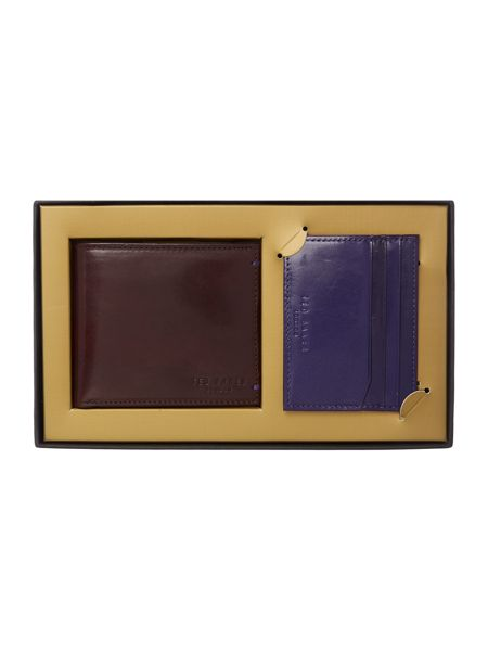 Ted Baker Wallet and card holder giftset