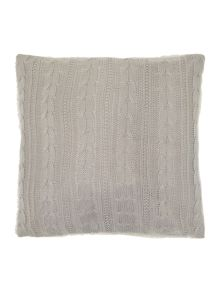 Linea Cable knit sherpa cushion