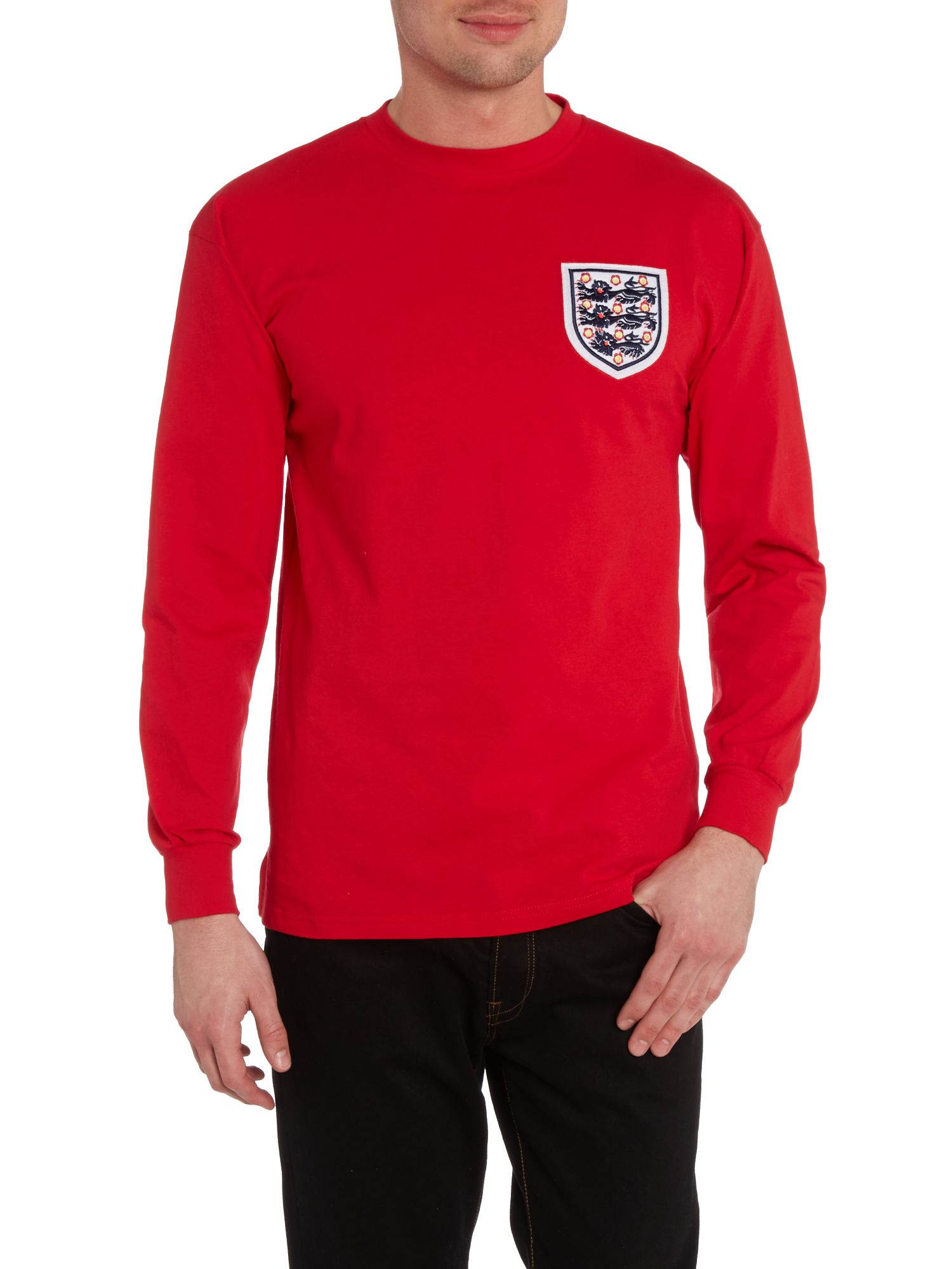 Long sleeve England 1966 away WC retro jersey