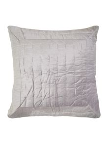 Collette velvet mid grey sham