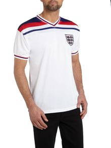 Short sleeve England 1982 home retro jersey