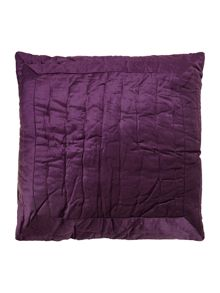Collette velvet purple sham