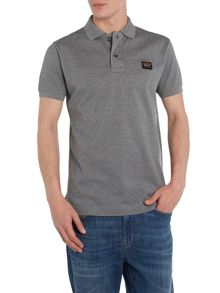Slim fit plain polo shirt