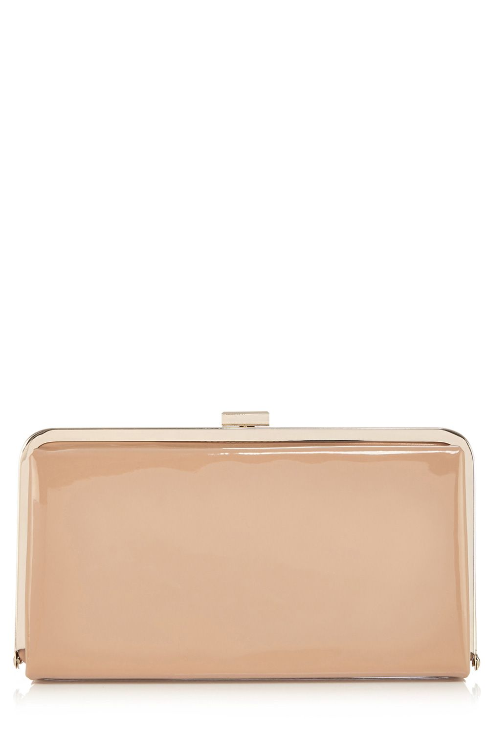 Ruby frame clutch bag