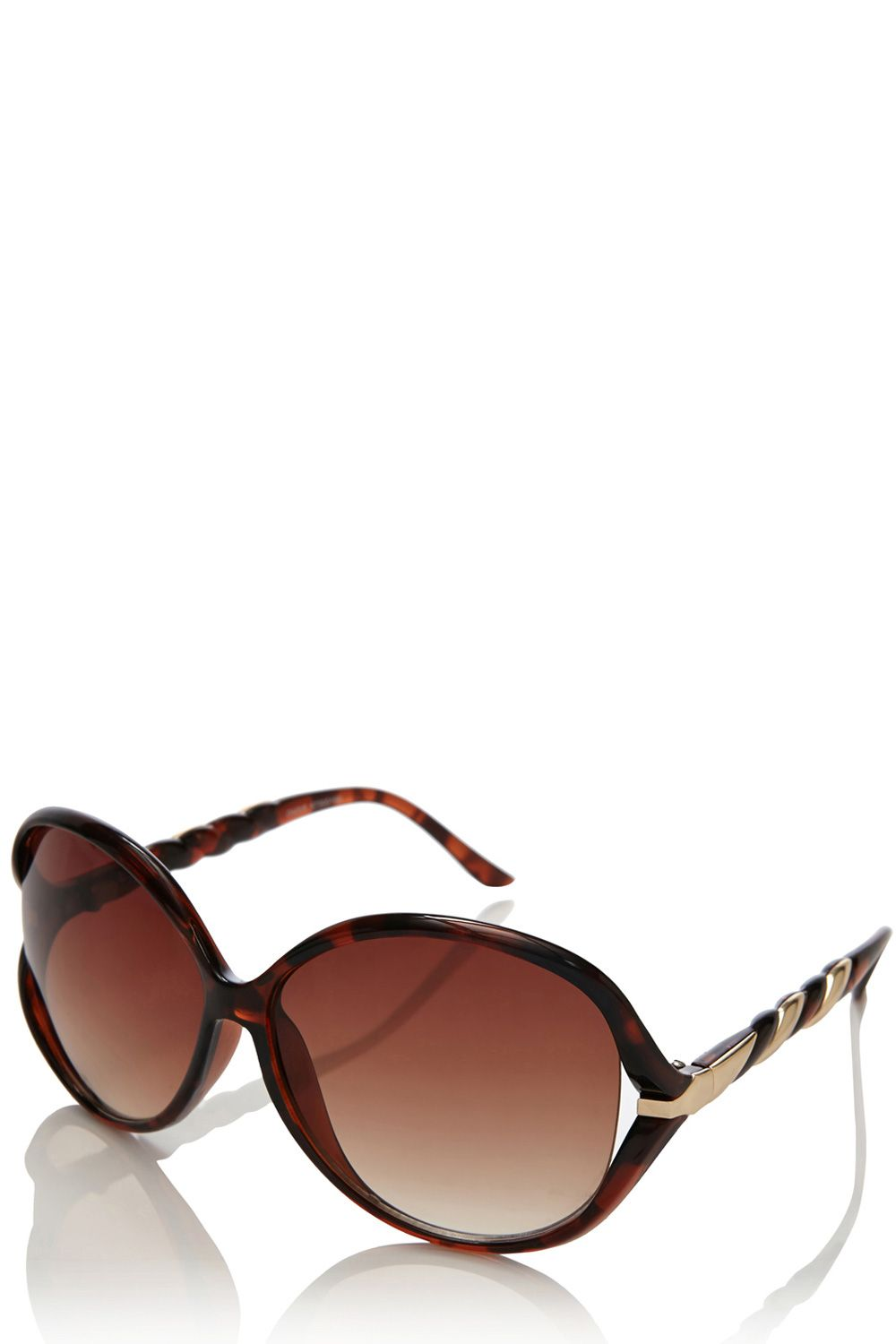 Twisted arm sunglasses