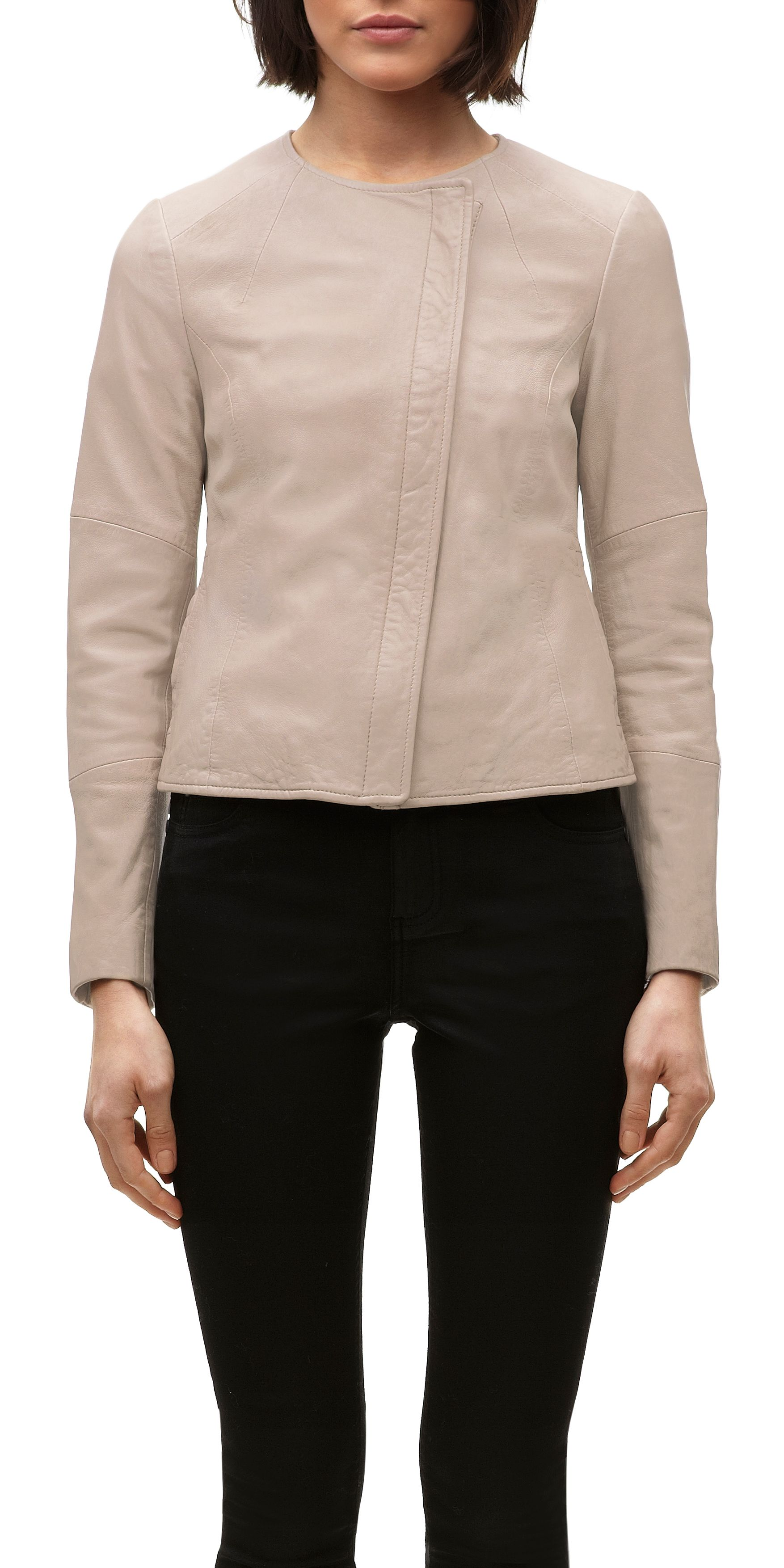Nanette Clean Leather Jacket