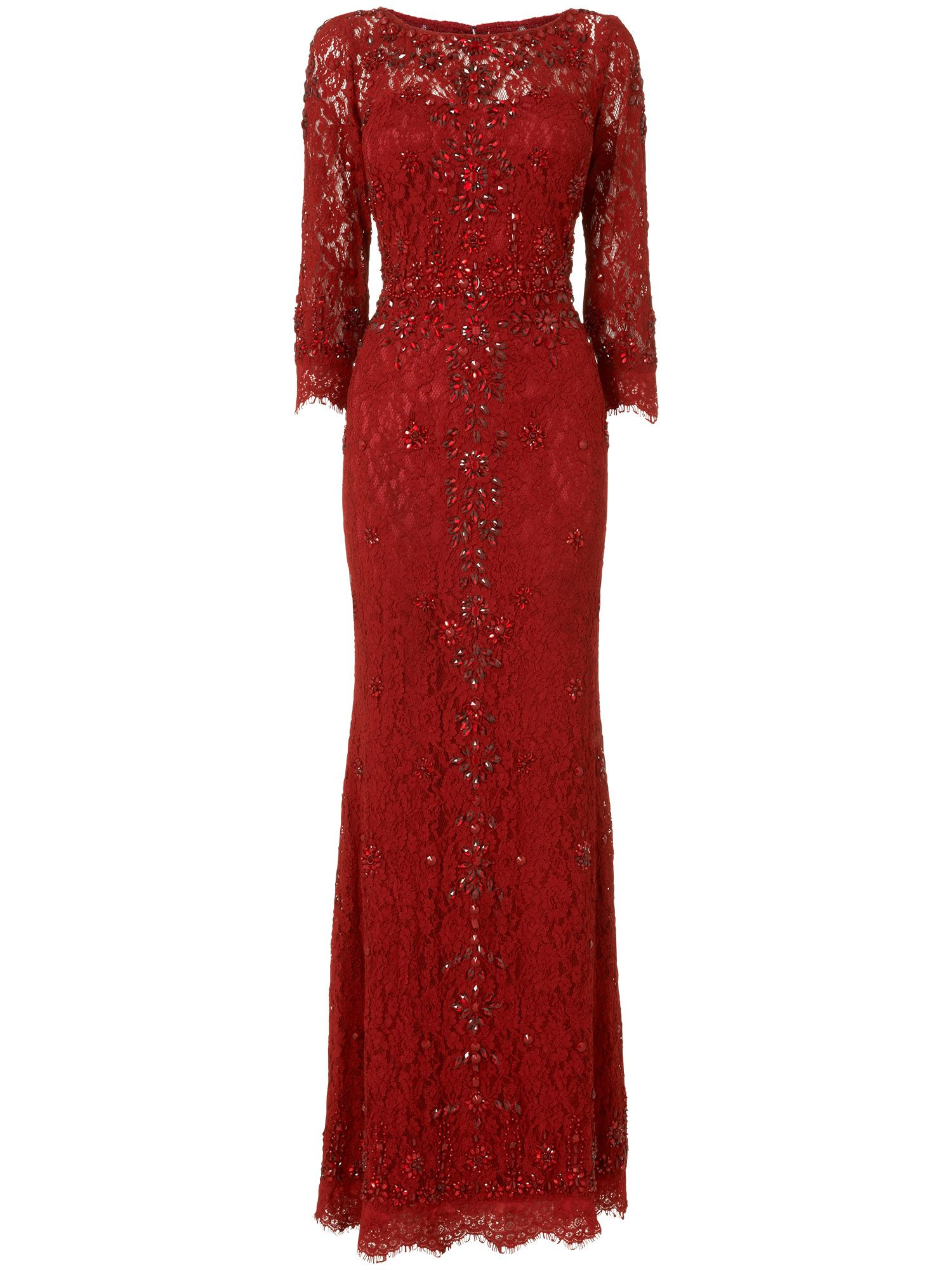 Tahlia embellished full length dress