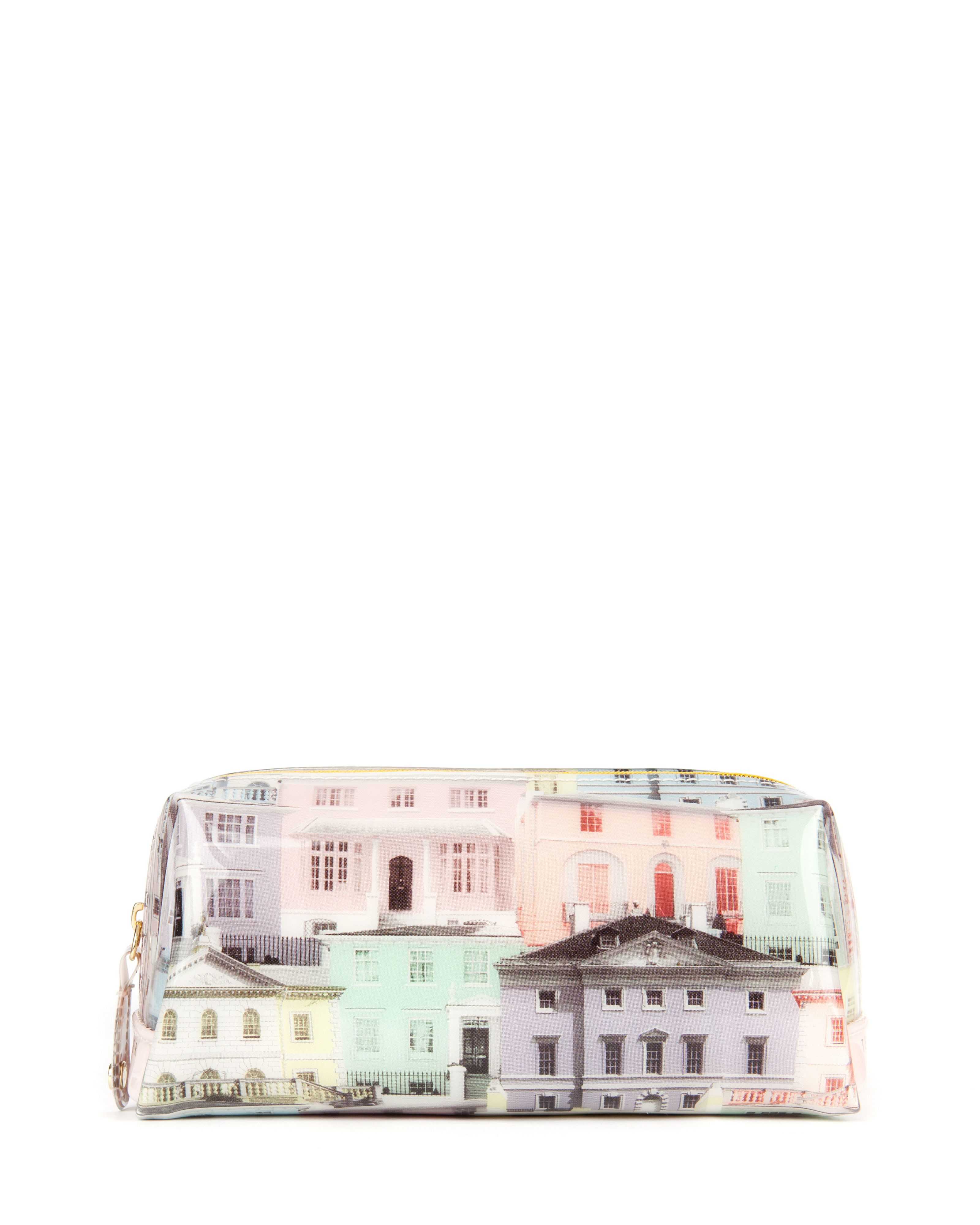 Wellin printed small washbag