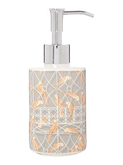 Living by Christiane Lemieux Aviary ceramic soap dispenser