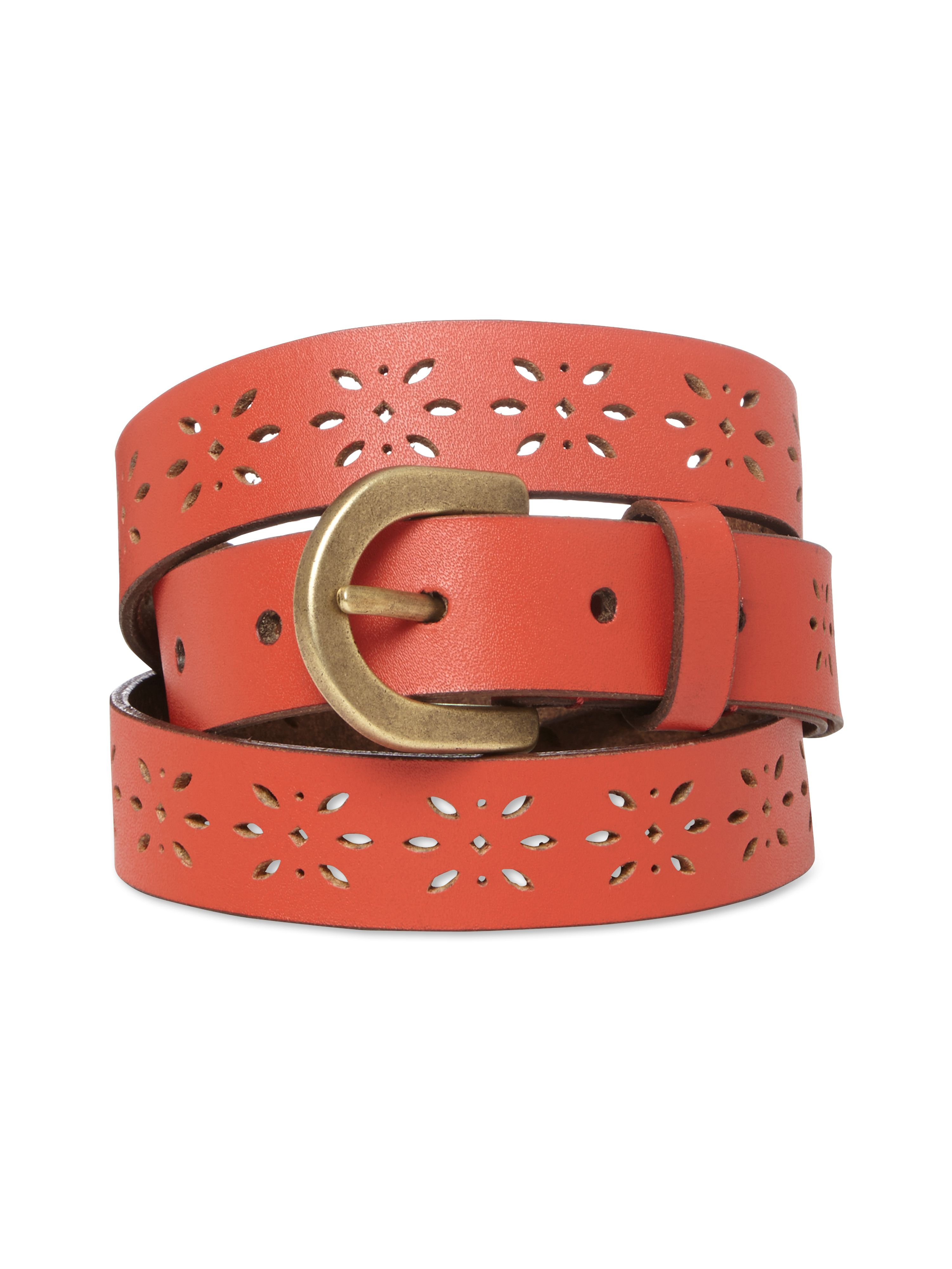 Skinny Cut Out Belt