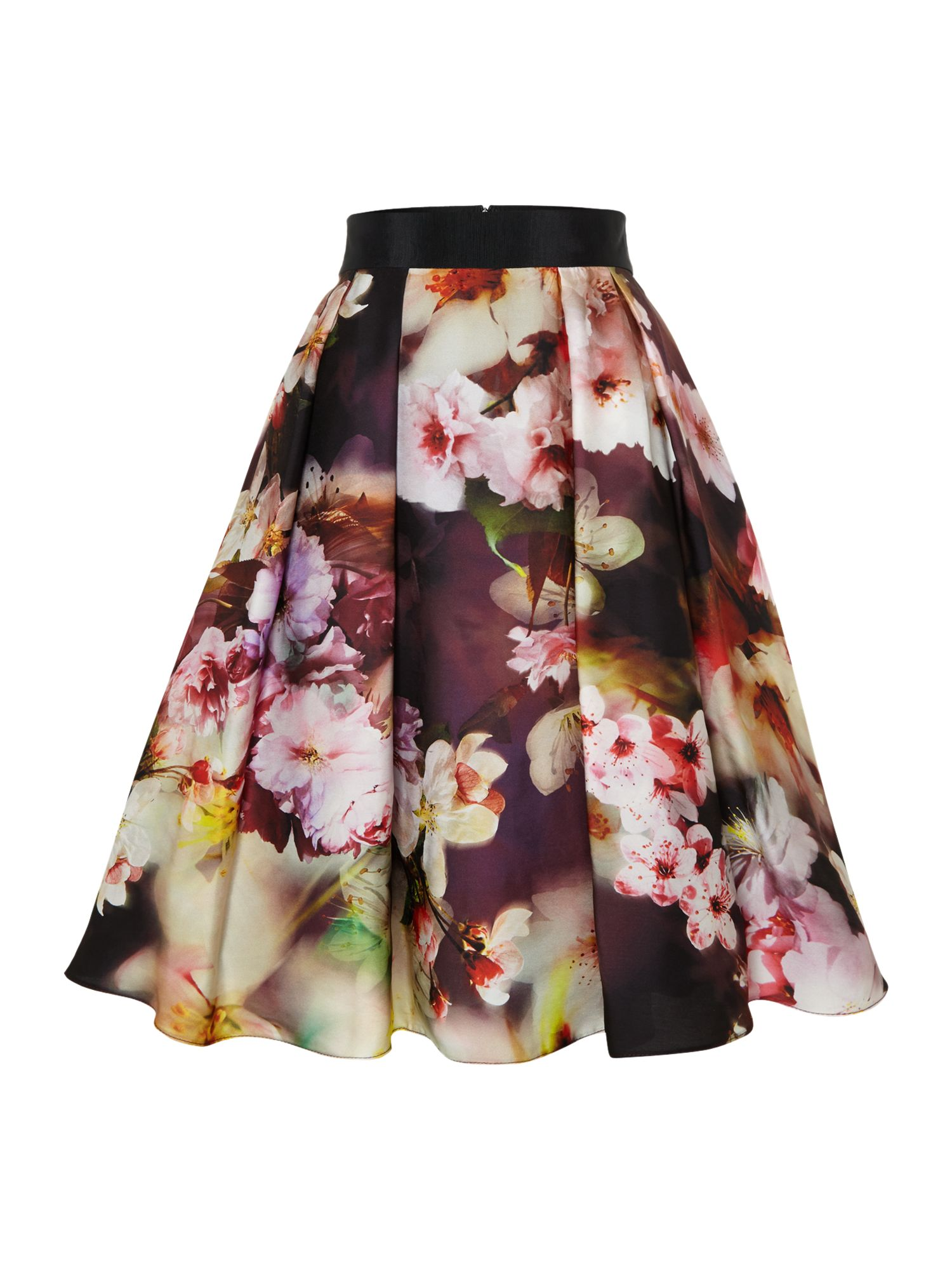 Fifties style floral skirt