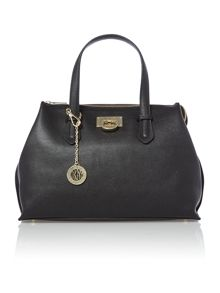 Chelsea black medium tote bag