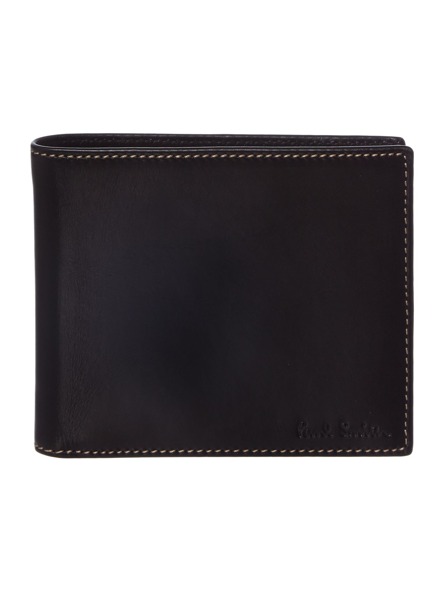 Internal top multistripe wallet
