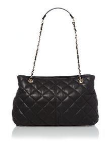 Gainsvoort black medium chain tote bag