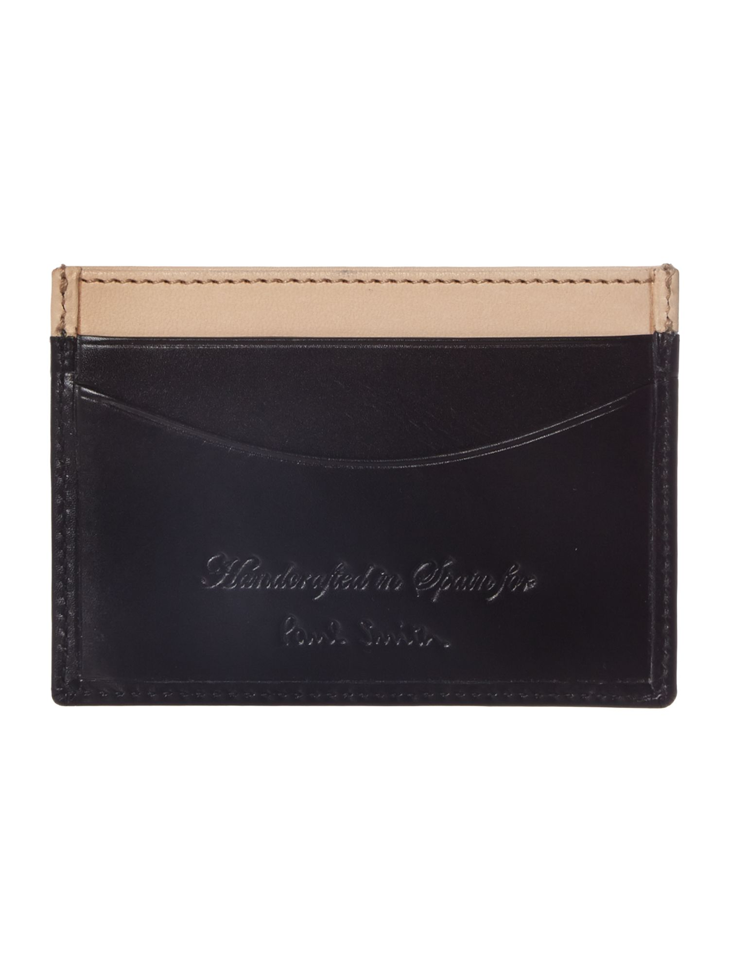 Internal top multistripe card holder