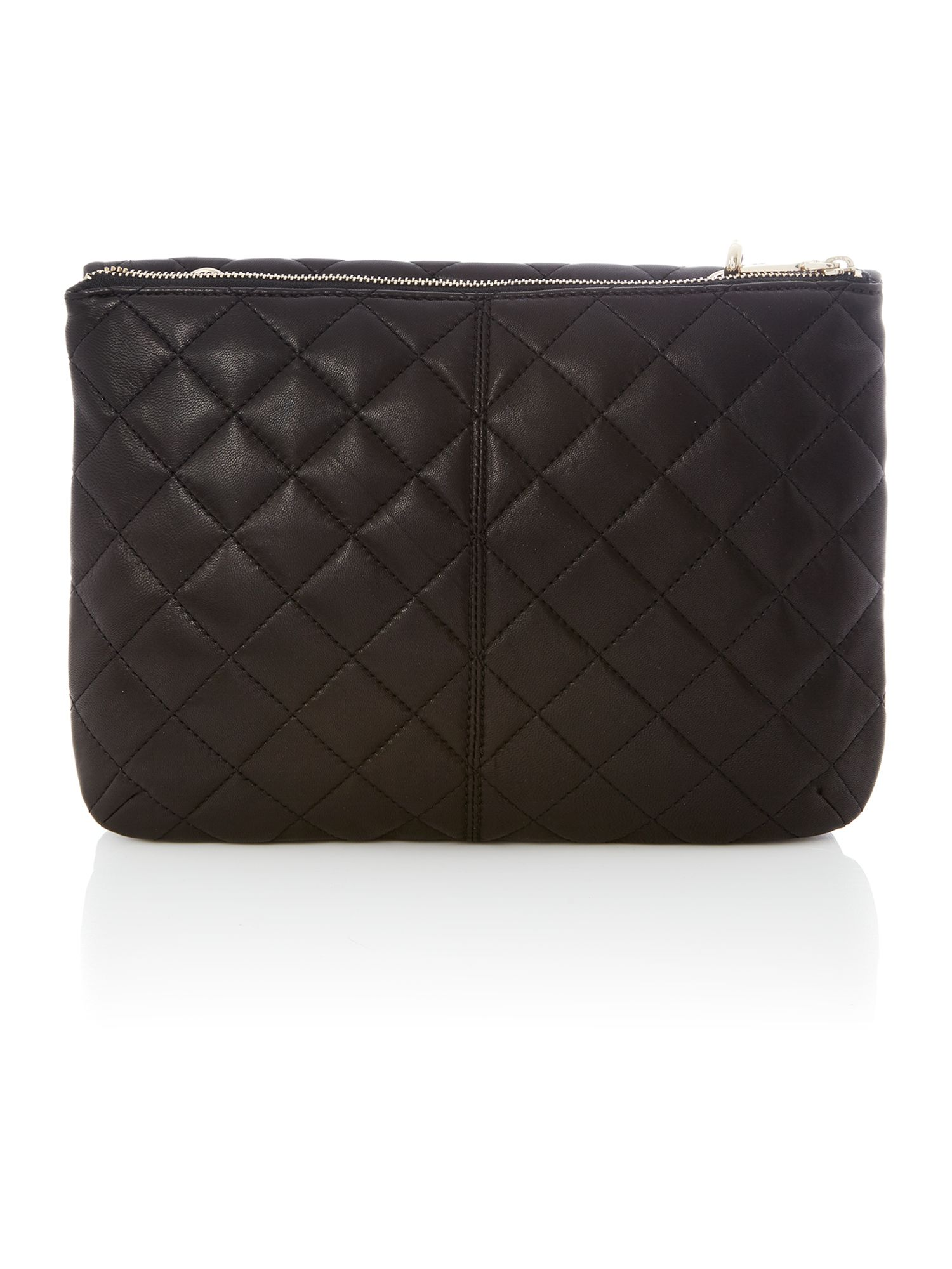 Gainsvoort black large flap crossbody