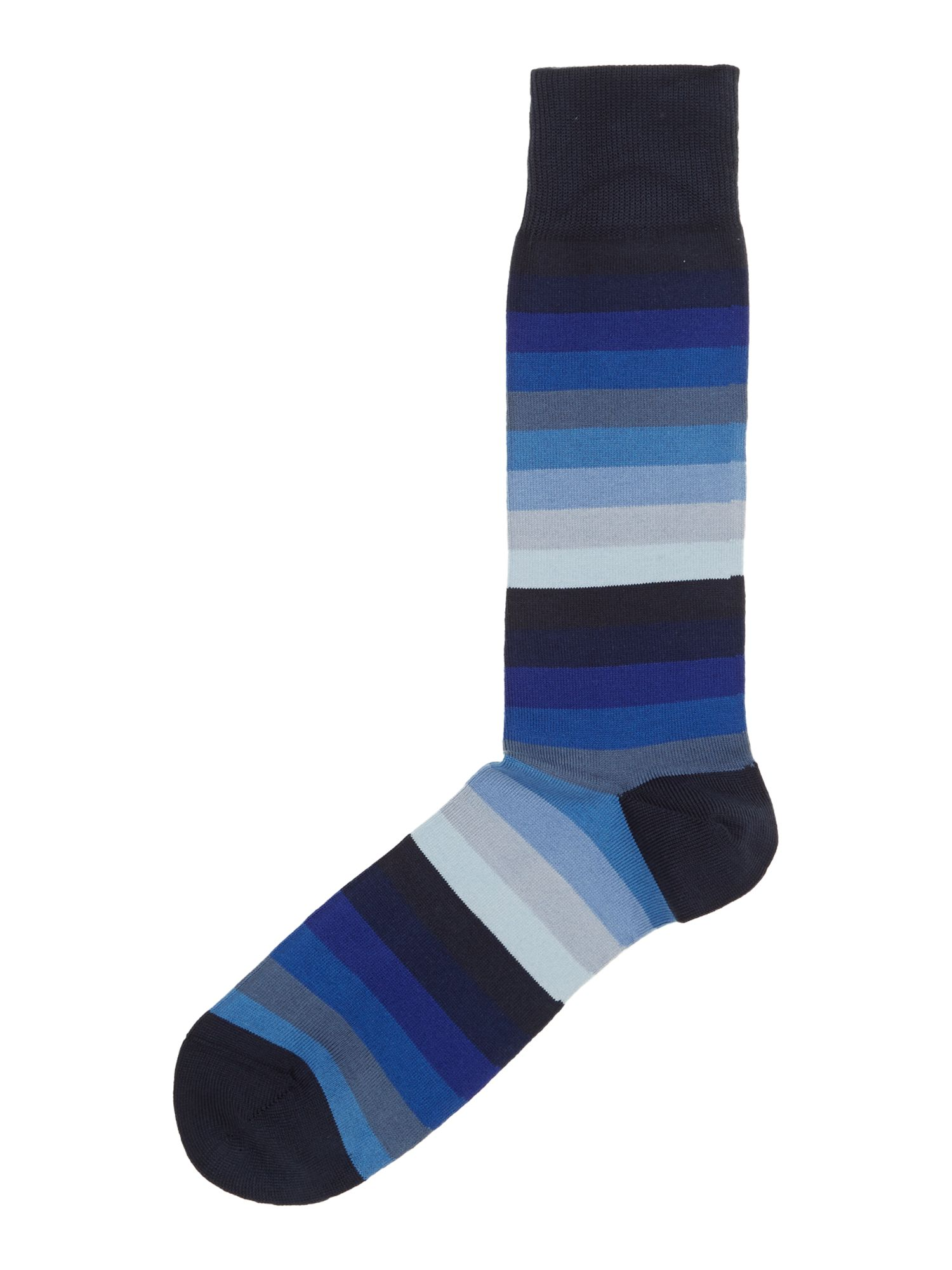 Blender block stripe sock